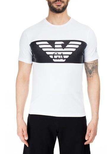 EA7 Emporio Armani  T Shirt Erkek T Shırt S 6Gpt56 Pjq9Z 1100 Beyaz
